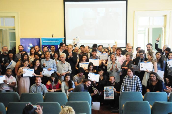 Vencedores do Prêmio ARI-Banrisul de Jornalismo. Foto Luiz Ávila